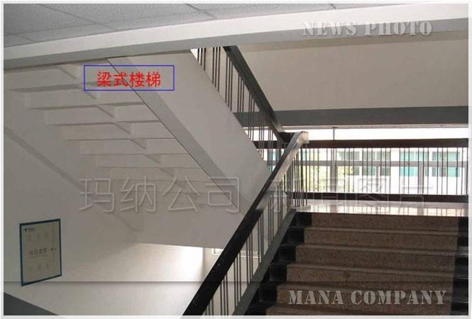 梁式楼梯和板式楼梯的区别梁式楼梯
