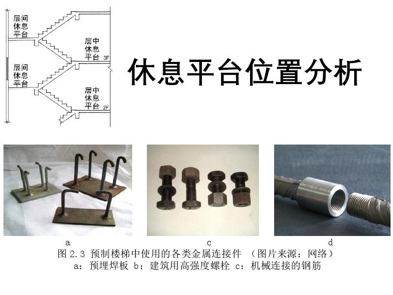 装配式普通构造楼梯的设计建议及施工建议