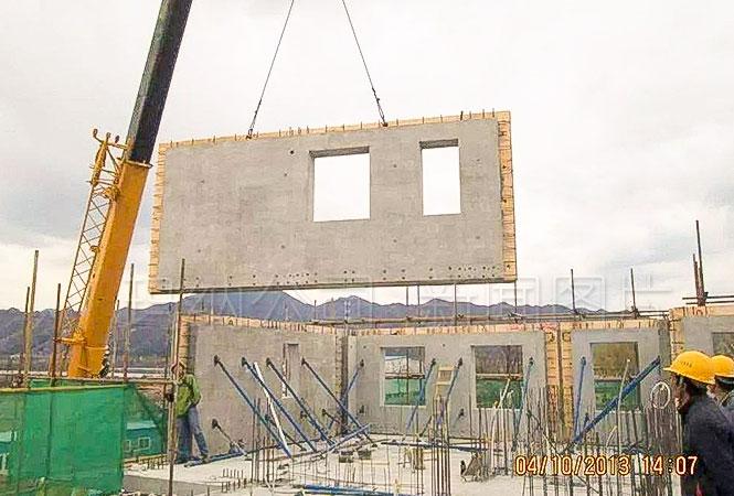 装配式建筑的4个主要优势装配式建筑 施工现场