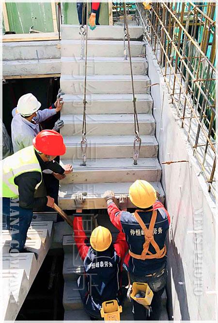 yuzhi楼梯安装施工工艺与要点
